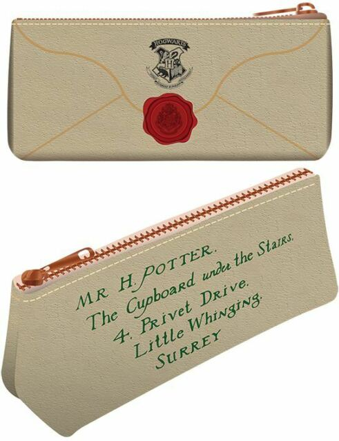Harry Potter Hogwarts Letra Vuelta Al Cole Premium Estuche