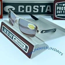 Costa Del Mar North NTN 21 Turn Palladium Square Sunglasses Silver 580p