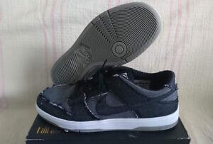 ef4e7aa01a95a Nike SB Dunk Low Elite QS Medicom Bearbrick Black Grey Denim 877063 ...