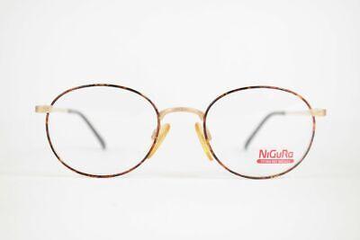 Amabile Vintage Nigura N0507 50 [] 20 140 Oro Ovale Occhiali Eyeglasses Nos- Long Performance Life