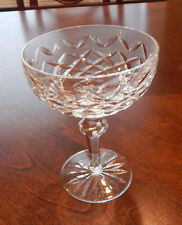 """WATERFORD POWERSCOURT CHAMPAGNE / TALL SHERBET 5 3/8"""" GLASS (S) EXCELLENT"""