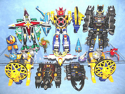 POWER RANGERS JUNGLE FURY DX MEGAZORD ZORD COLLECTION LOST A ZORD PICK ONE