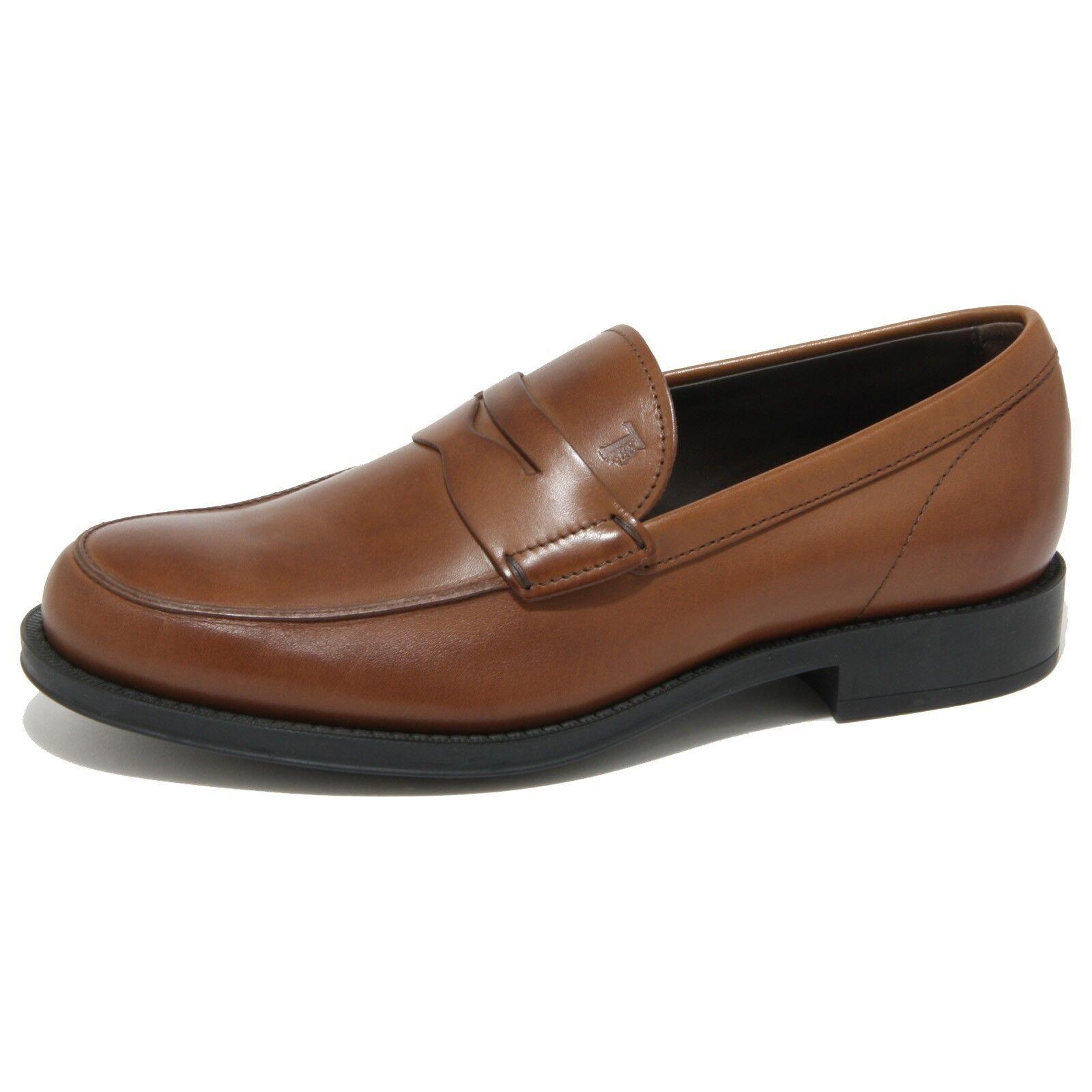 0510O mocassino TOD'S MOCASSINO CLASSICO marrone scarpe uomo loafer Uomo