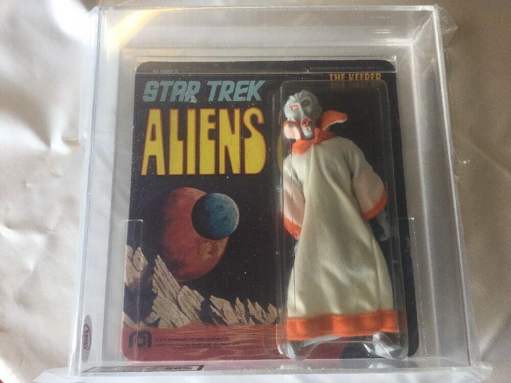 Ukg 50 Afa Authenticated Star Trek Mego Aliens The Keeper Toy