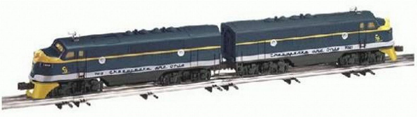 Lionel Chesapeake & Ohio (C&0) (C&0) (C&0) F-3 A-A Diesel Set TMCC, 6-38144, nuovo Sealed C-10 480087