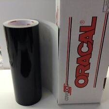 "Oracal 651 1 Roll 12"" X 10ft. Black #070 Vinyl for Craft Sign Cutter"