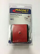 Master Magnetics 2375 Ceramic Retrieving Magnet 40 Lb Pull 34 Mgoe Red 1