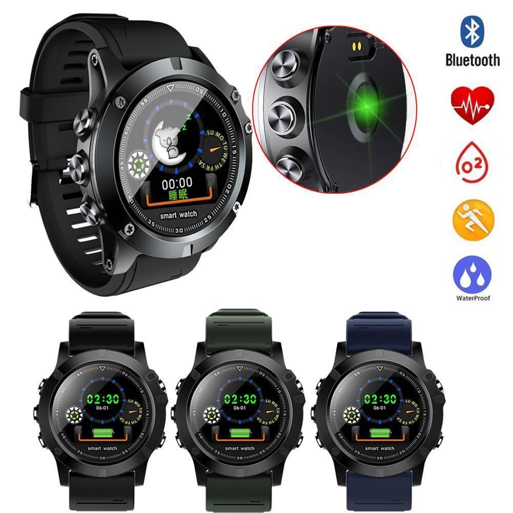 Good Watch Bluetooth Coronary heart Fee Sleep Monitor SMS Push for Samsung LG Huawei