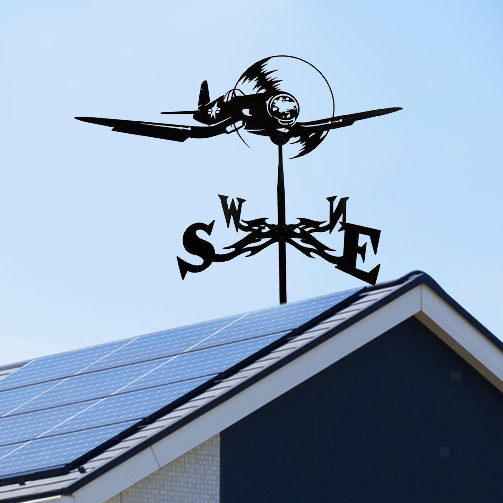 Weather Vane Farm Roof Mount Metal Weathervane For Farmhouse Cupolas Scene
