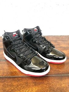 Nike-SB-Zoom-Dunk-High-TR-QS-Rivals-Pack-BRED-AJ7730-001-Size-Men-7-5-wmns-9