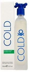 jlim410: United Colors of Benetton Cold for Men 100ml EDT Free Shipping / Paypal
