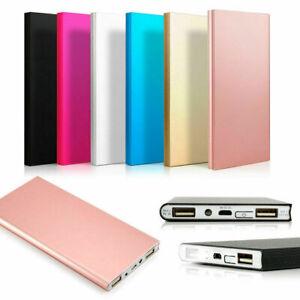 Мини портативный аккумулятор 20000 мА·ч USB Внешний аккумулятор зарядное устройство для мобильного телефона