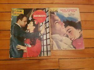 MARLON-BRANDO-Fotonovel-Magazines-LOT-Complete-3-Very-Rare