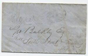 1854-New-York-City-Boyds-City-Post-Local-stampless-re-stock-purchase-y1263