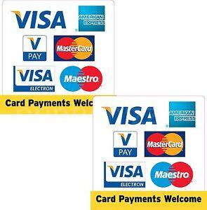 Details zu 7x Visa American Express Vpay Mastercard Electron Maestro Credit Card Taxi Shop