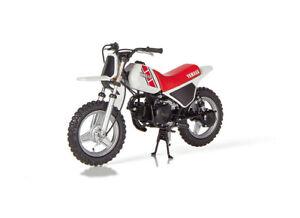 Yamaha-PW50-1981-Motocicleta-de-modelo-de-resina-M12025