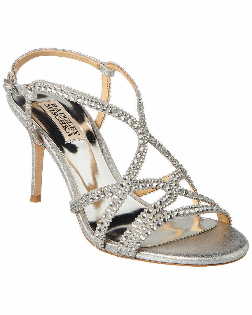 Badgley Mischka Wilde Leather Sandal Size 8.5NEW