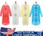 5-100 PCS RAINCOAT Disposable PONCHO Adult Emergency Outdoor Hiking Camping