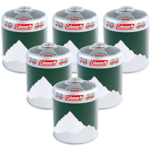 Coleman C500 Gas Canisters Pack Of Six