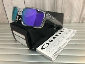 5063a38572a Image is loading New-Oakley-Chainlink-Sunglasses-OO9247-06-Polish-Clear-