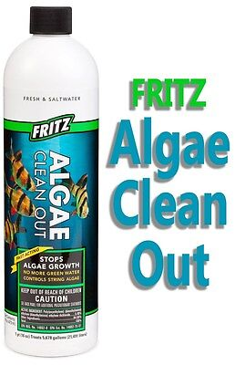 Pet Supplies Objective Fritz Acquatici Alghe Clean Out Soluzione 473ml Fresco/acqua Salata Acquario To Enjoy High Reputation In The International Market Fish & Aquariums
