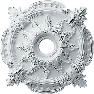 """28 3/8""""OD x 4 1/2""""ID x 1 5/8""""P Ceiling Medallion (Fits Canopies up to 6"""") CM6156"""