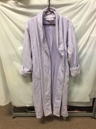 Victoria's Secret Purple Plush Terry Cloth Robe Wo
