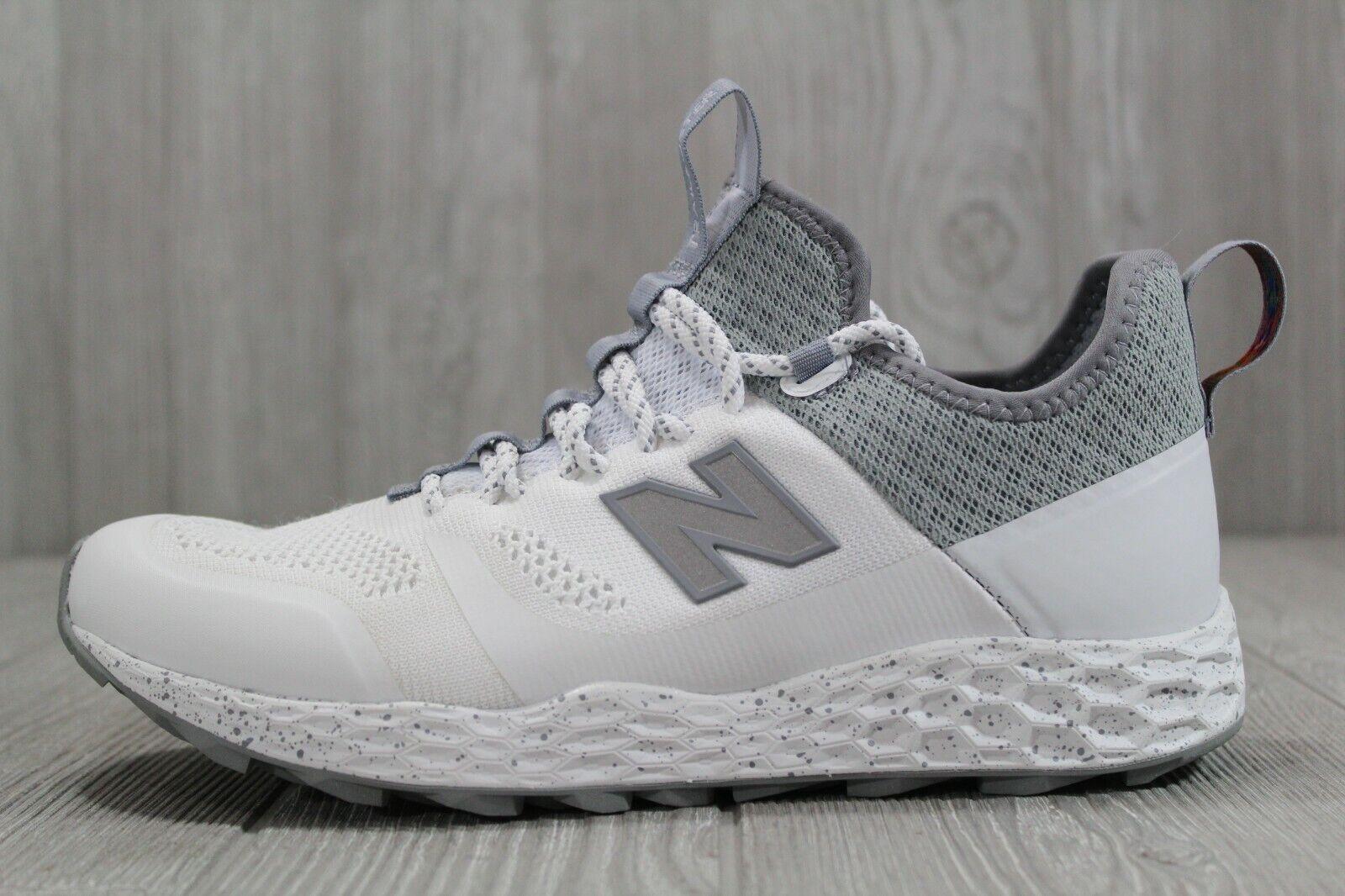 38 New Balance  Fresh Foam Trailbuste White Artic Fox Men's shoes 8.5 MFLTBDWT