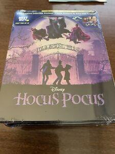 Hocus-Pocus-4k-UHD-Bluray-Best-Buy-Steelbook-Brand-New-and-Sealed