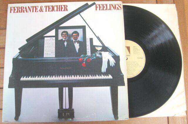 FERRANTE & TEICHER Feelings (1976) LP VINYL ALBUM - UA-LA 662-G