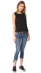 Rag and bone Capri Skinny mid waist blue jean, hampton, s. 24, 25, 26, 27, 28
