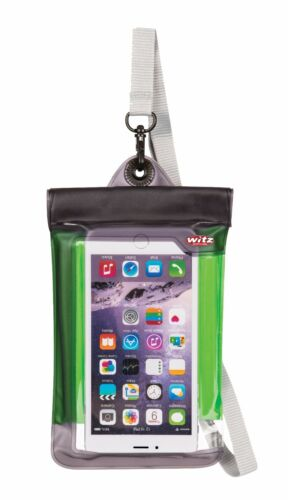 IPhone 7 Plus size phones Green Witz Smart Phone Pouch Waterproof Soft Case