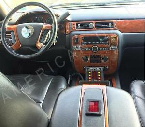 Chevrolet Chevy Avalanche Ls Lt Ltz Interior Wood Dash Trim Kit 2007