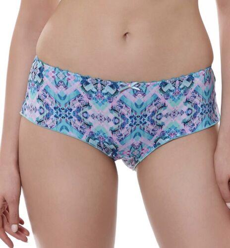 Freya Chameleon Short Brief Knickers Size XS 8 10 Pastel Blue Pink 1976 New