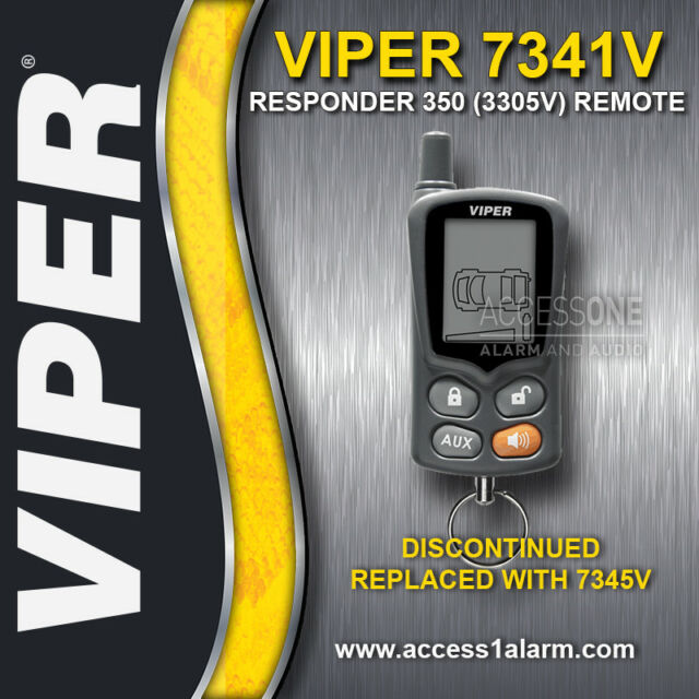 Viper 3305v responder lcd 2 way security system ebay viper 7341v 2 way lcd replacement remote 7345v for the viper responder 350 3305v publicscrutiny Image collections