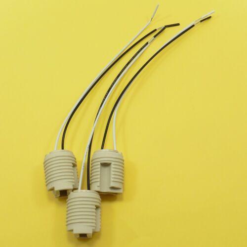 G9 LAMPADA IN CERAMICA BASE Titolare Presa Cavo Alogeno Lampadina LED Luce Verso Il Basso