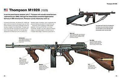 Thompson Submachine Gun Blueprint Poster Print T431 A4 A3 A2 A1 A0|