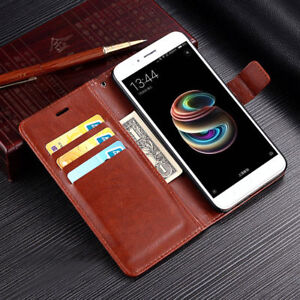 premium selection 47220 bdc76 Details about For Xiaomi Mi A1 Note 3 4 4X 5A Magnetic Flip Wallet Durable  Leather Case Cover