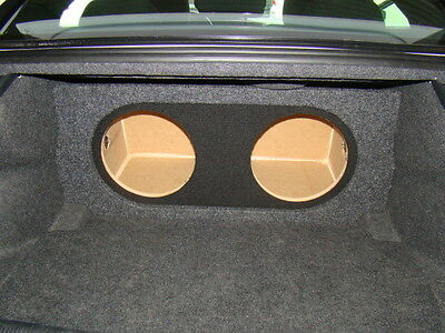 """Zenclosures 2-12/"""" PORTED VENTED 2011-2018 DODGE CHARGER Subwoofer Sub Box"""
