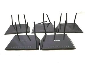 Lot-of-5-Netgear-AC1750-R6400-Routers-No-Working-Loose-Antennas