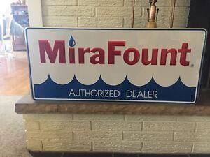 """Colorful Mira Fount Publicité Ferme Signe Livestock Watering Systems 36"""" X 16""""-afficher Le Titre D'origine Ayuidglh-08000907-705049632"""