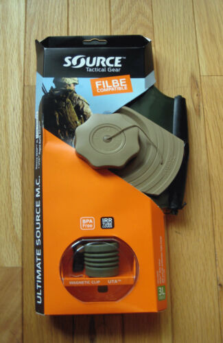 3L Hydration Upgrade Kit  Coyote Brown USMC FILBE Ultimate Source M.C