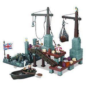 Mega Bloks Pirates des Caraïbes Port Royale - 1016 Collectable 65541010161