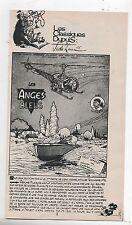 Supplément à Spirou n°2014. Ginger. Les Anges Bleus. Jidéhem - 1976