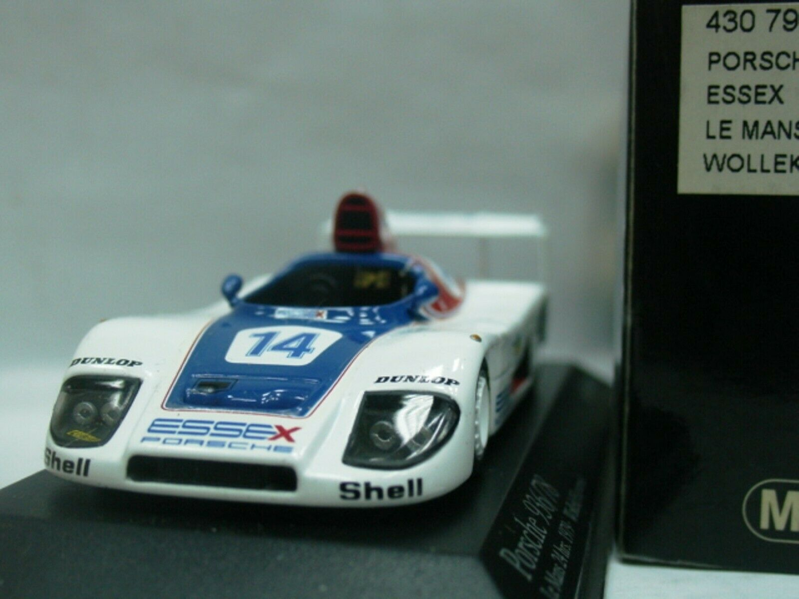 Wow extrêmement rare Porsche 936 1979 Turbo Turbo Turbo  14 Wollek Le Mans 1 43 Minichamps - 935 a75819