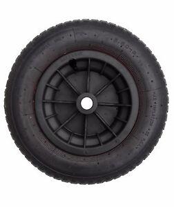 14 black pneumatic wheelbarrow wheel tyre 8 inner tube innertube ebay. Black Bedroom Furniture Sets. Home Design Ideas