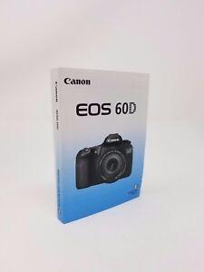canon eos 60d genuine instruction owners manual book original new rh ebay com canon eos 60d service manual & repair guide PDF Canon EOS 60D