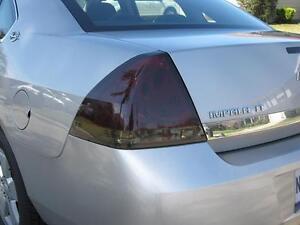 Image Is Loading 2006 2017 Chevrolet Impala Smoke Tail Light Precut
