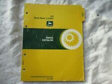 1978 John Deere 125 Skid Steer Loader Parts Catalog Manual