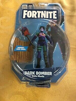 "NEW Fortnite mode Solo 4/"" Figure Dark Bomber Series 2"